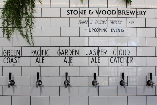 stone wood brewery byron bay